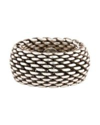 Tiffany & Co - Metallic Somerset Ring Silver - Lyst