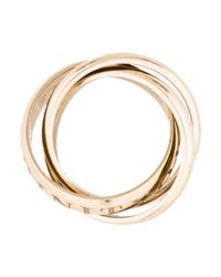 Cartier - Metallic Or Amour De Trinity Ring White - Lyst
