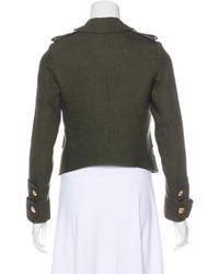 Smythe - Green Wool-blend Jacket Olive - Lyst