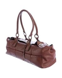 Tod's - Brown Quilted Leather Shoulder Bag - Lyst