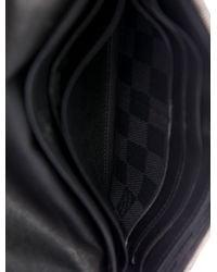 Louis Vuitton - Metallic Damier Graphite Adjustable Wallet Black - Lyst