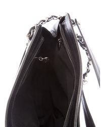 Chanel - Metallic Vintage Caviar Cc Shoulder Bag Black - Lyst