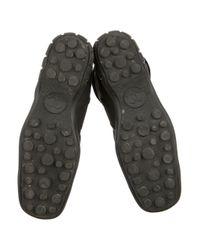 Chanel - Metallic Knee-high Square-toe Boots Black - Lyst