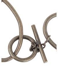 Chanel - Metallic Embellished Waist Belt Gold - Lyst