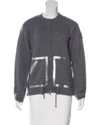 Chanel - Gray 2016 Metallic Cashmere Sweater Grey - Lyst