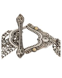 Chanel | Metallic Cc Multi-strand Bracelet | Lyst