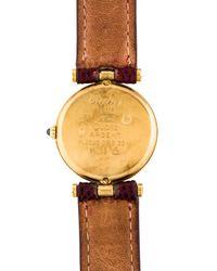 Cartier - Metallic Must De Watch Gold - Lyst