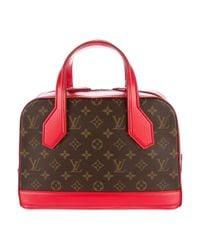 Louis Vuitton - Metallic Monogram Dora Mm Brown - Lyst