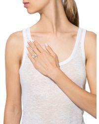 Louis Vuitton | Metallic Empreinte Diamond Band White | Lyst