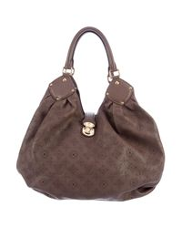 Louis Vuitton | Brown Mahina L Hobo | Lyst