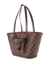 Louis Vuitton - Brown Damier Ebene Manosque Pm - Lyst