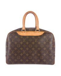 Louis Vuitton - Natural Monogram Deauville Bag Brown - Lyst