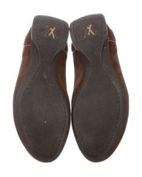 Louis Vuitton - Natural Monogram-paneled Low-top Sneakers Brown - Lyst