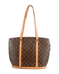 Louis Vuitton - Natural Monogram Babylone Tote Brown - Lyst