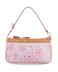 Louis Vuitton - Natural Cherry Blossom Pochette Accessoires Pink - Lyst