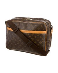 Louis Vuitton - Monogram Report Gm Brown - Lyst