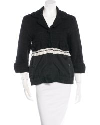 Marc Jacobs - Black Long Sleeve Casual Jacket - Lyst