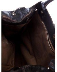 Marc Jacobs - Metallic Suvi Chain Bag Black - Lyst