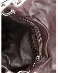 Roger Vivier - Metallic Snakeskin Fringed Bag Multicolor - Lyst