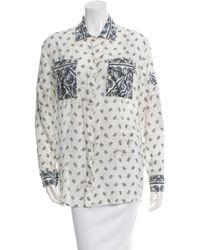 Balmain - White Shirt - Lyst