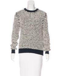 Étoile Isabel Marant   Black Canelia Stripe Sweater   Lyst