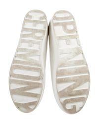 Opening Ceremony - White Flatform Slip-on Sneakers - Lyst