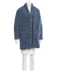 IRO - Blue 2015 Balding Coat - Lyst