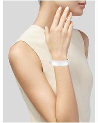 Alexis Bittar - Metallic Organic Bangle Bracelet Gold - Lyst