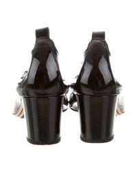 Chanel - Black Stretch Spirit Pumps - Lyst