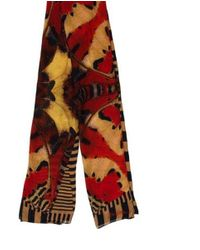 Christian Lacroix - Natural Printed Multicolor Scarf Beige - Lyst