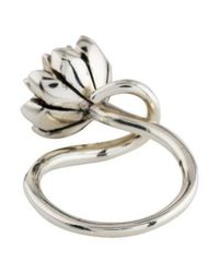 Pamela Love - Metallic Small Anemone Ring Silver - Lyst