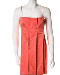 Marc Jacobs - Multicolor Dress Coral - Lyst