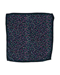 Marc Jacobs - Blue Printed Silk Handkerchief Navy - Lyst