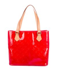 Louis Vuitton - Natural Vernis Houston Tote Rouge - Lyst