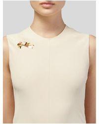 Tiffany & Co - Metallic 14k Ribbon Brooch Yellow - Lyst
