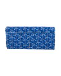 Goyard - Metallic Ine Varenne Wallet Blue - Lyst