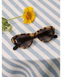 Reformation Multicolor Krewe X Irma Sunglasses
