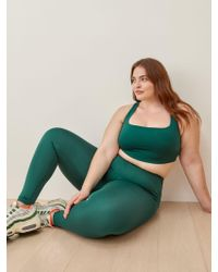 Reformation Green Ecomove High Rise Legging Es