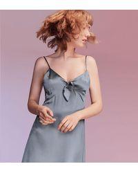 Reformation Blue Aruba Dress