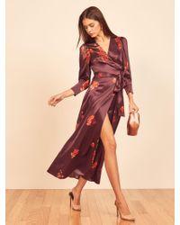 Reformation Multicolor Merrick Dress