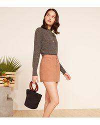Reformation Multicolor Becca Skirt