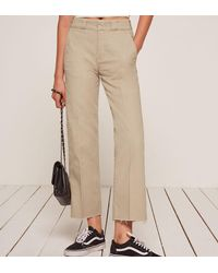 Reformation - Natural Work Pant - Lyst