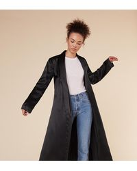 Reformation Black Francoise Coat