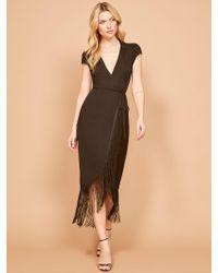 Reformation Black Dali Dress