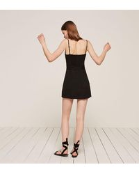Reformation Black Sayulita Dress