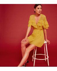 Reformation Red Juliana Dress