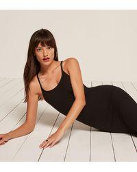 Reformation - Black Hana Dress - Lyst
