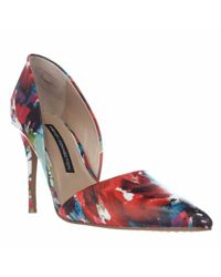 French Connection | Multicolor Elvia Dress Pointed Toe D'orsay Pumps | Lyst