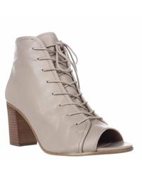Steve Madden | Multicolor Neela Open-toe Lace Up Booties | Lyst