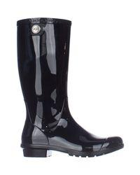 Ugg Black Ugg Shaye Rain Boots